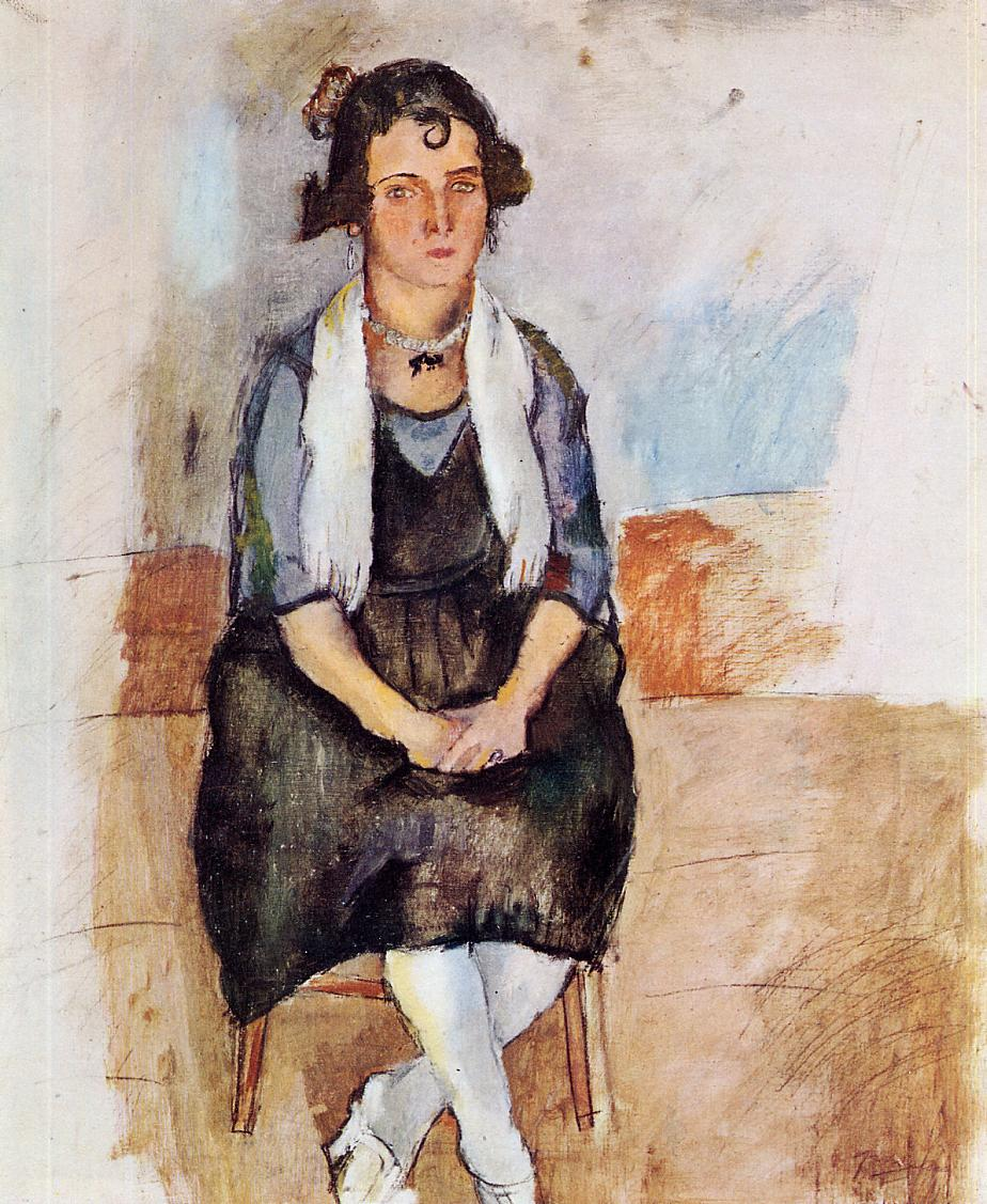 A Lady from Matigues 1924 | Jules Pascin | oil painting