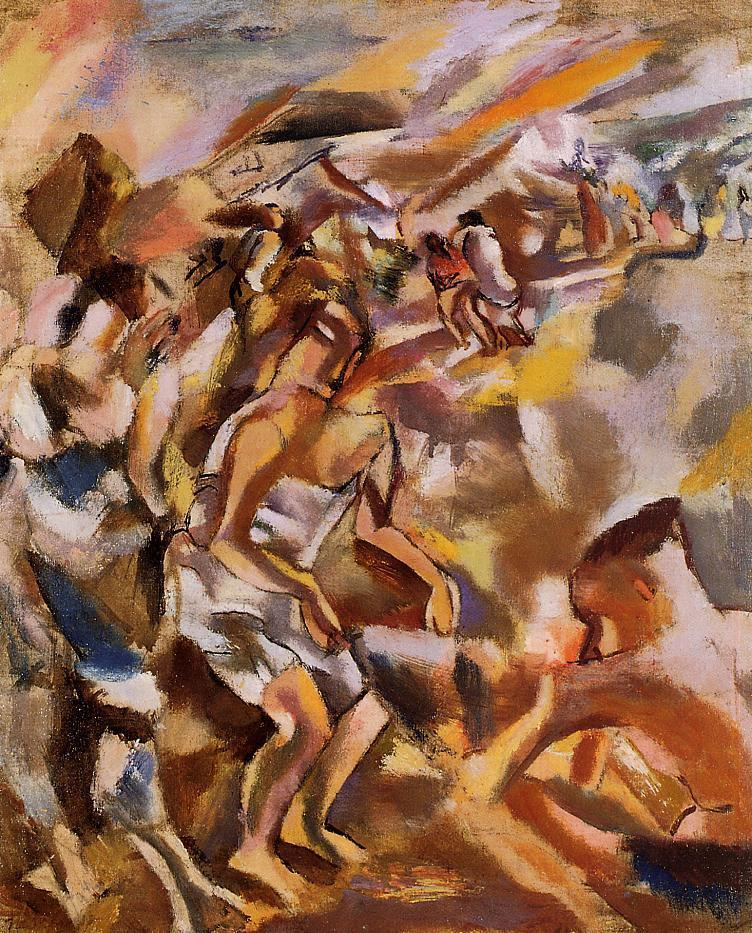 Cuban Figures 1917 | Jules Pascin | oil painting