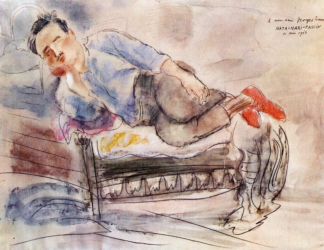 Georges Eisenmann 1926 | Jules Pascin | oil painting