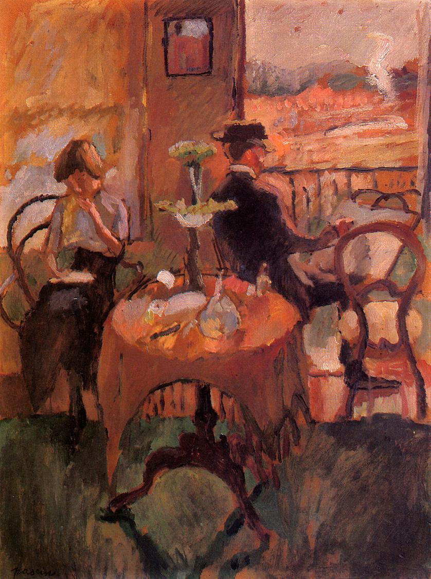 Interior Scene 1910 | Jules Pascin | oil painting