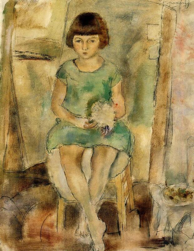 Little Girl 1927 | Jules Pascin | oil painting