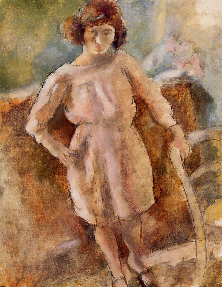 Little Nana from Cassis 1925 | Jules Pascin | oil painting