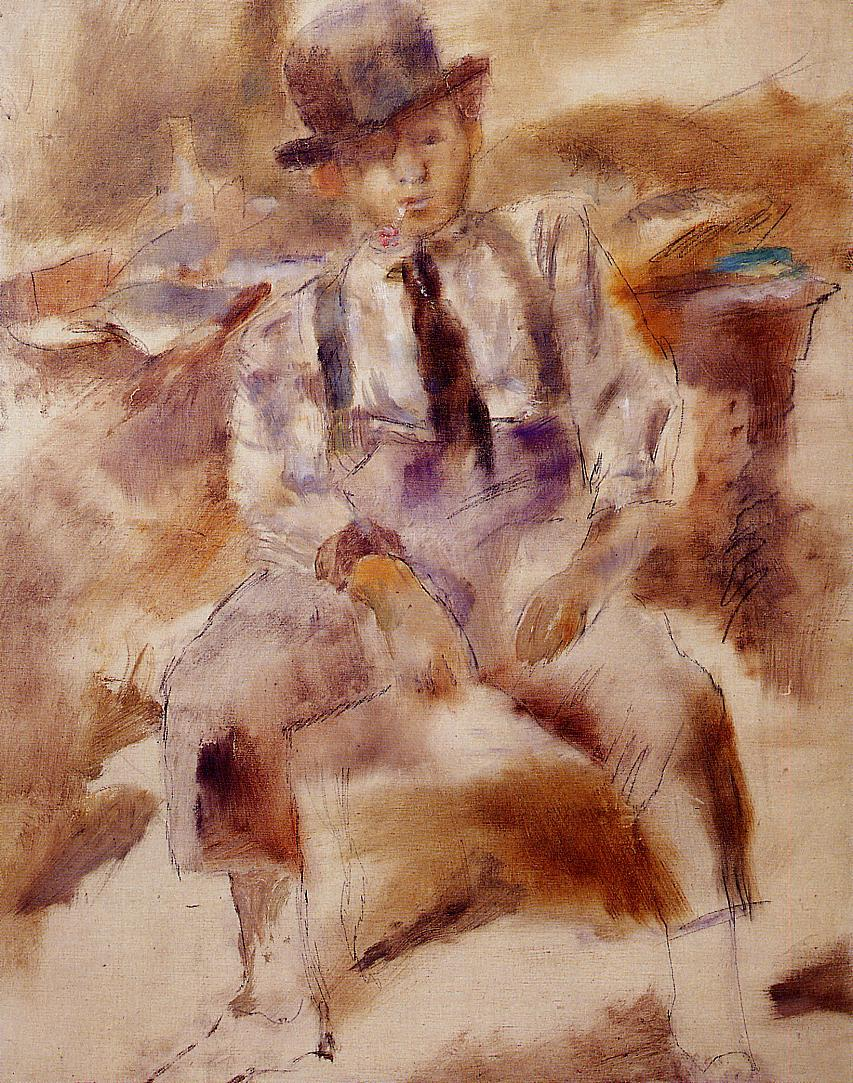 Mulatto with Bowler Hat 1930 | Jules Pascin | oil painting