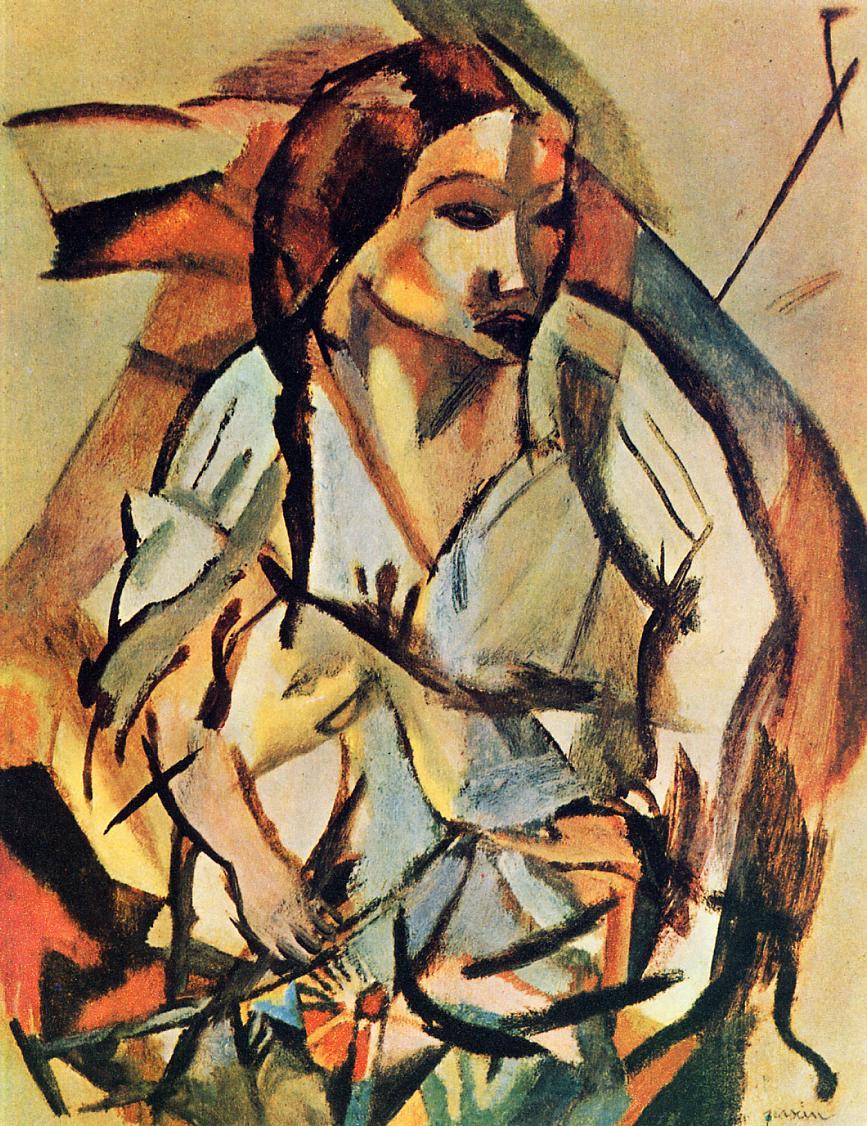 Portrait of a Woman 1918 | Jules Pascin | oil painting