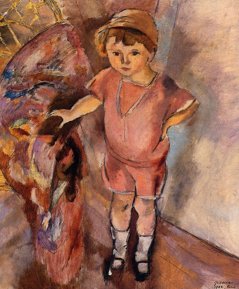 Young Boy 1922 | Jules Pascin | oil painting