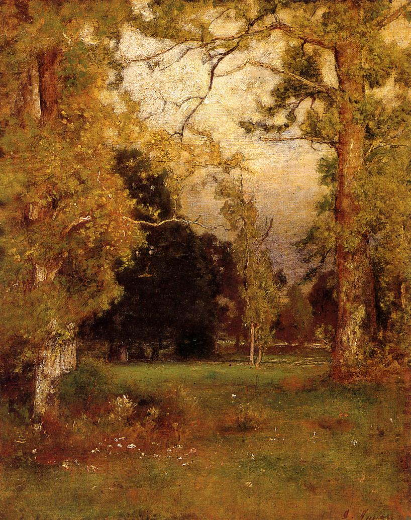 Late Afternoon 1882 | George Inness | oil painting