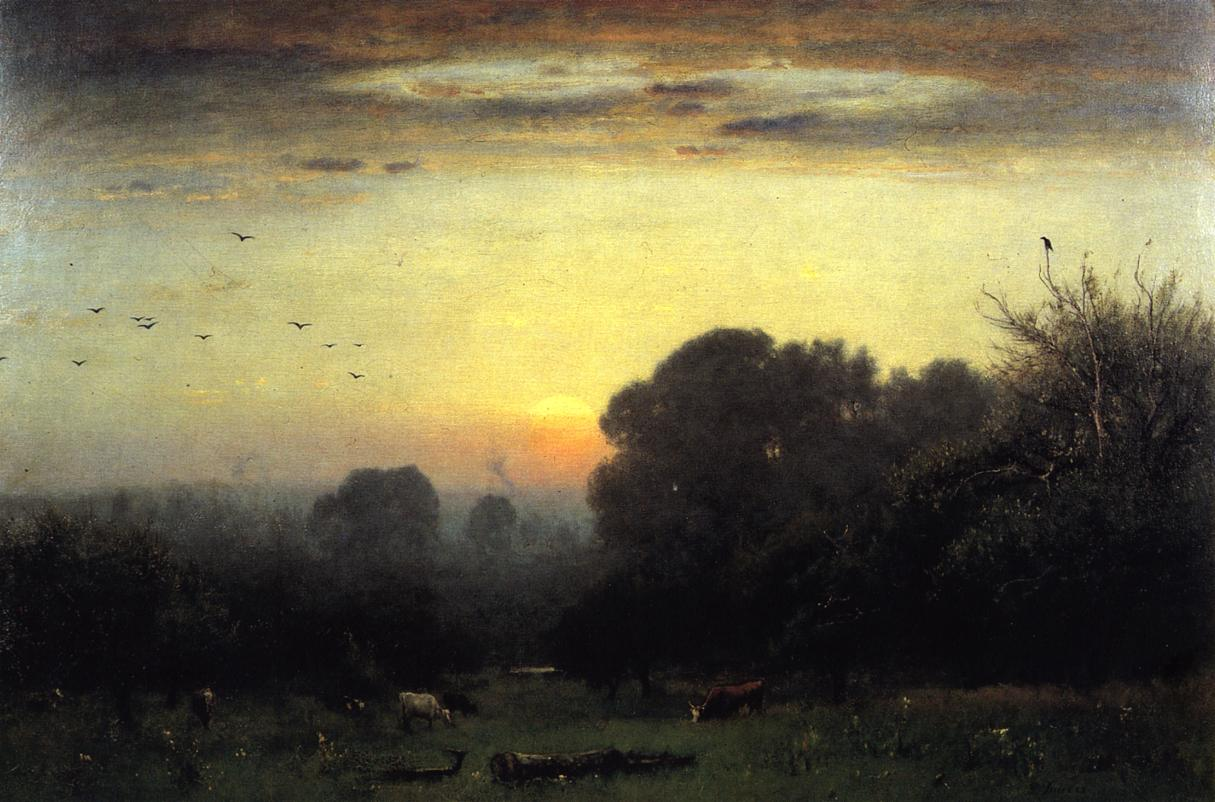 Morning 1878 | George Inness | oil painting