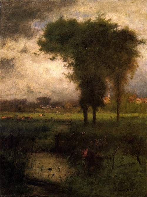 Woodland Scene | George Inness | oil painting