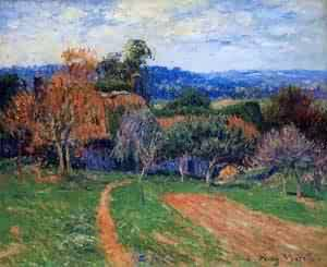 A Farm near Pont Aven 1902 | Henri Moret | oil painting