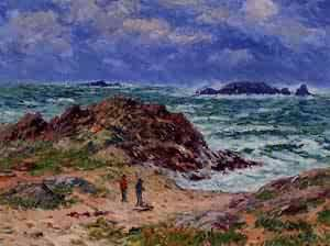 By the Sea in Southern Brittany 1912 | Henri Moret | oil painting