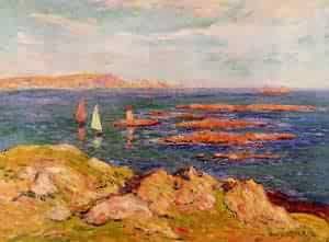 By the Sea | Henri Moret | oil painting