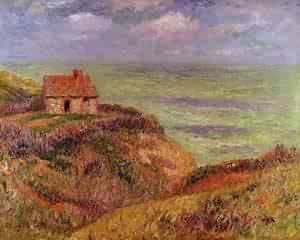 Cliffs of Moelian Finistere 1901 | Henri Moret | oil painting