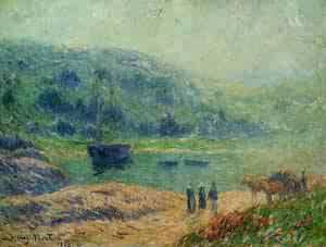 Creek in Brittany 1903 | Henri Moret | oil painting