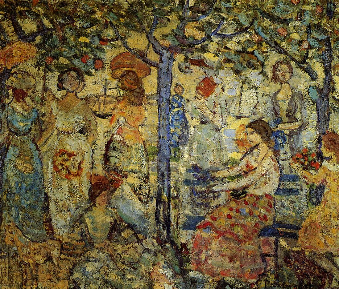 Acadia 1918-1923 | Maurice Predergast | oil painting