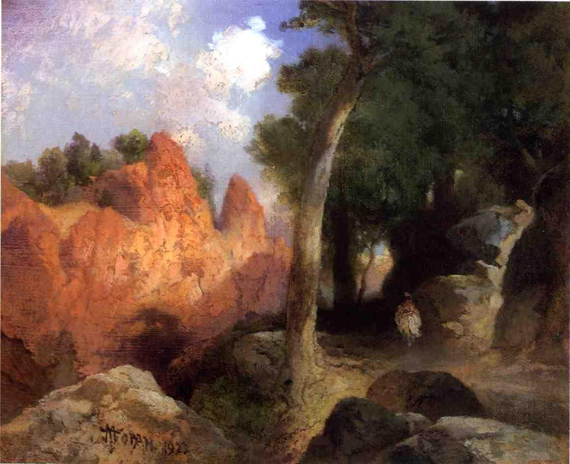 Canyon of the Clouds 1922 | Thomas Moran | oil painting
