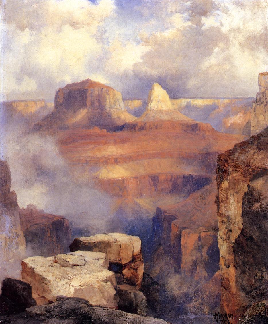 Grand Canyon  1916   Thomas Moran   oil painting