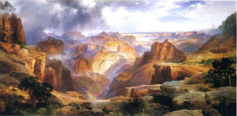 Grand Canyon 1904   Thomas Moran   oil painting