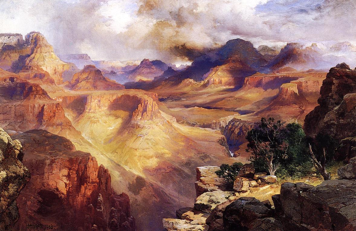 Grand Canyon 1908   Thomas Moran   oil painting
