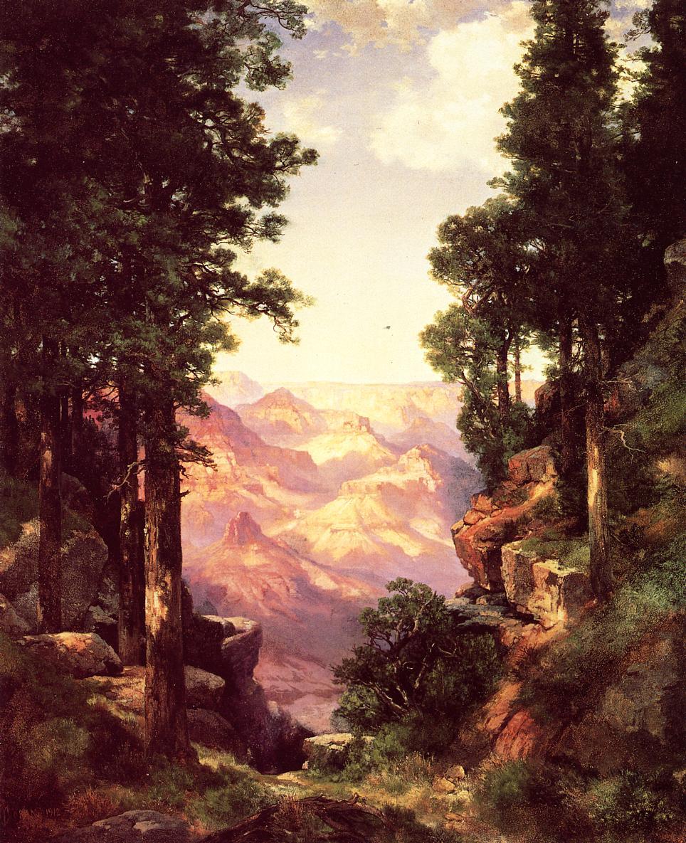 Grand Canyon 1912 1   Thomas Moran   oil painting