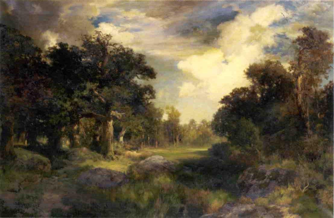 Long Island Landscape 1902   Thomas Moran   oil painting