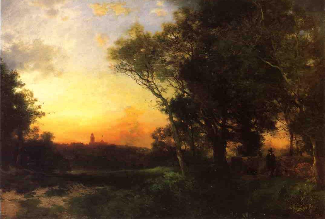 Mexican Landscape near Cuernavaca 1905   Thomas Moran   oil painting