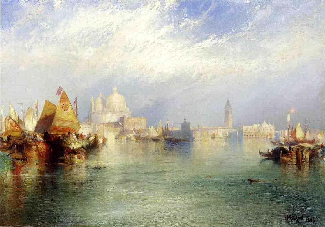 The Splendor of Venice 1894 | Thomas Moran | oil painting