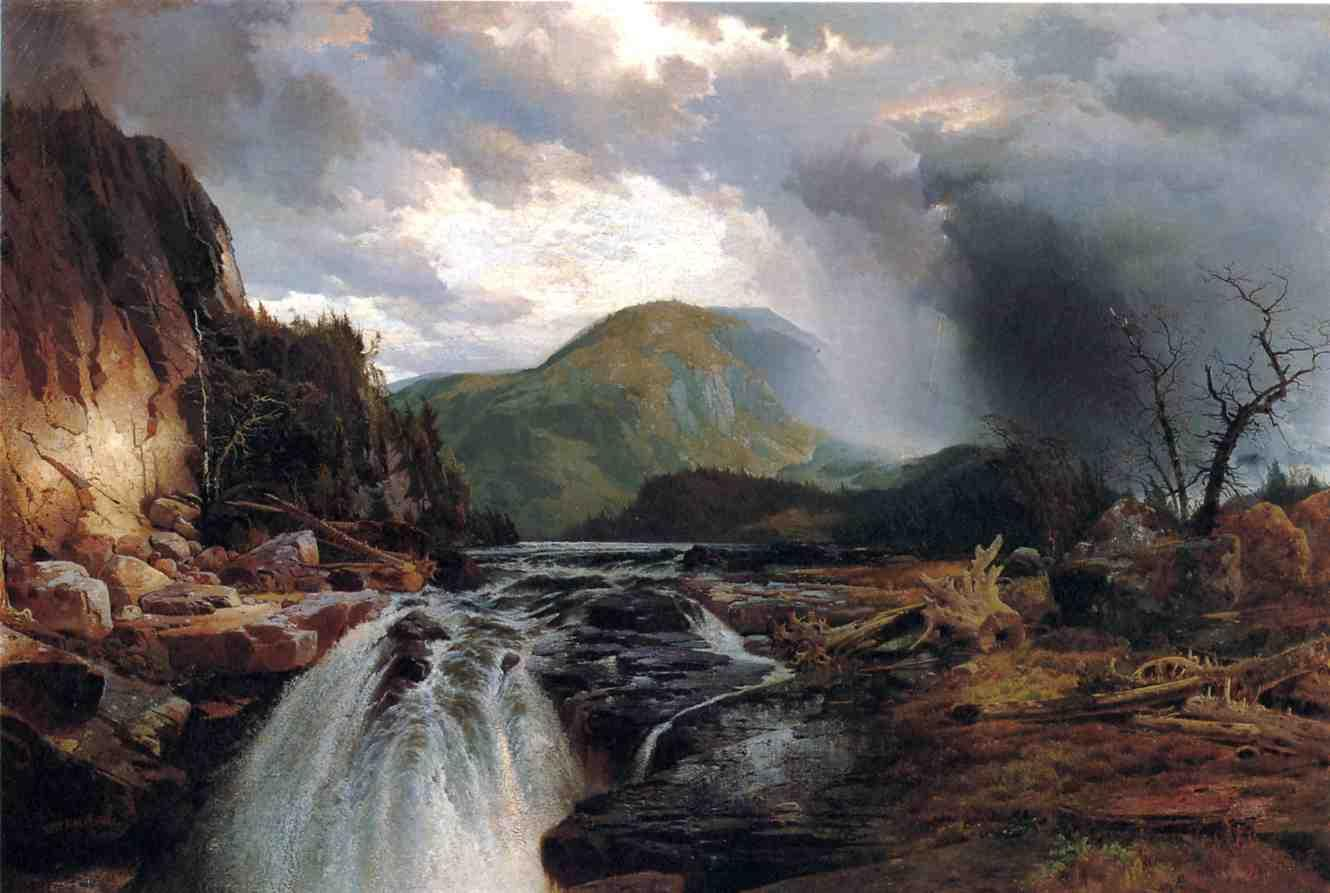 The Wilds of Lake Superior 1864 | Thomas Moran | oil painting