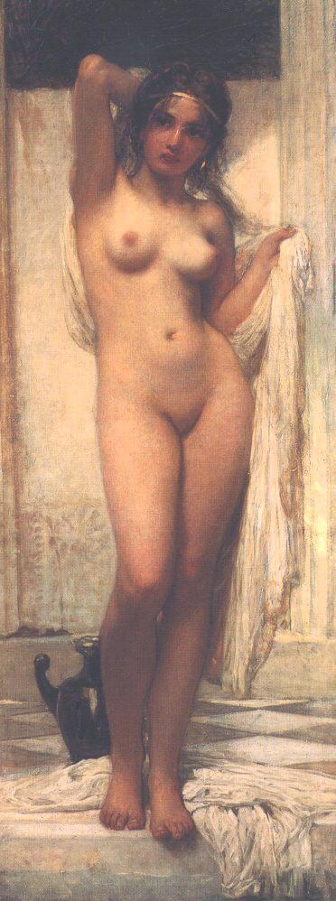Bathing Woman 1901 | Karoly Lotz | oil painting