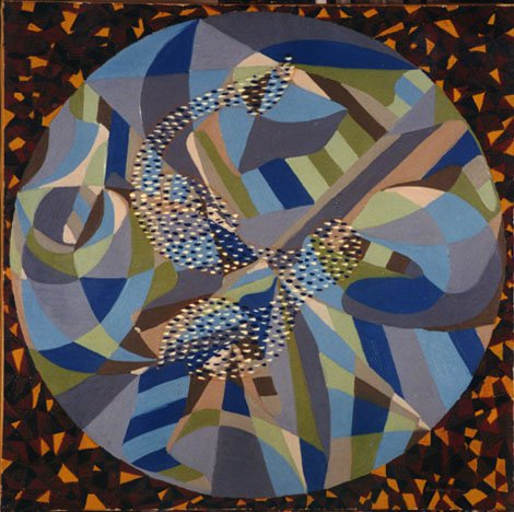 Rotation and Speed 1966 | Tamas Lossonczy | oil painting