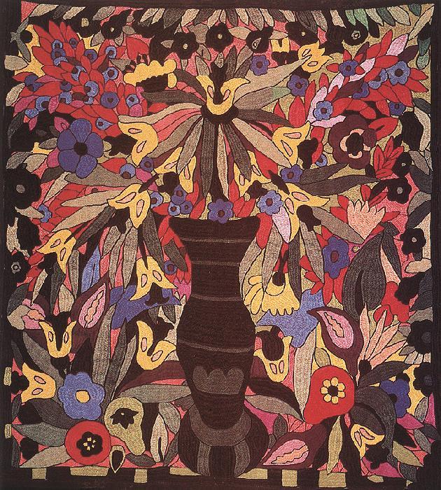 Ady Cushion 1912 | Anna Leaznai | oil painting