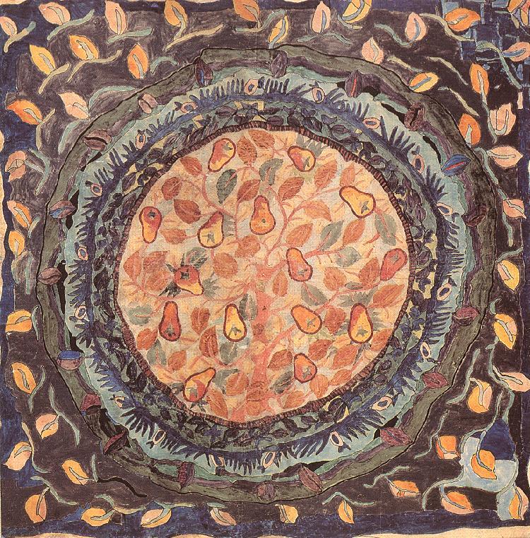 Pear Tree 1918 | Anna Leaznai | oil painting