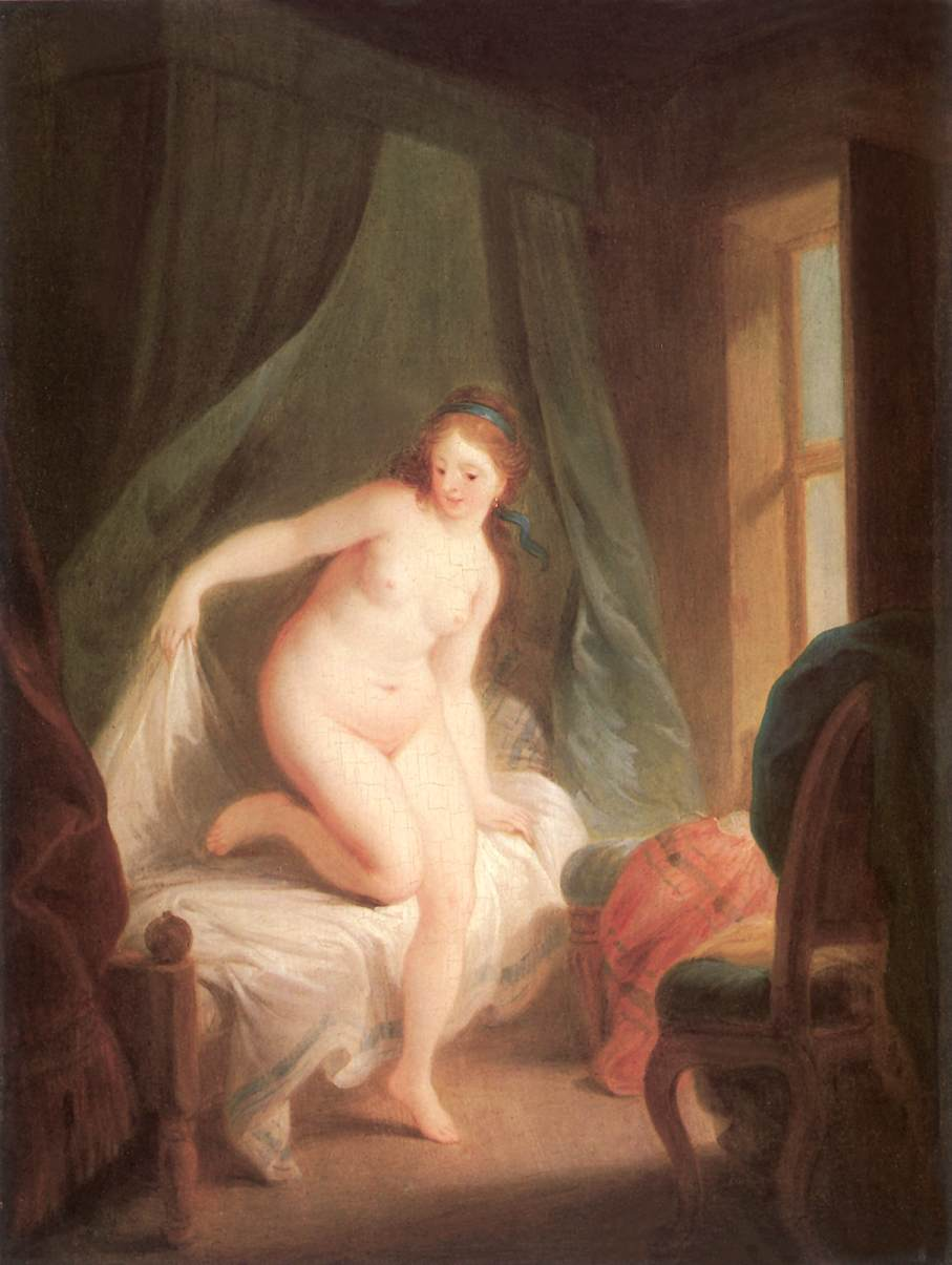 The Morning 1780s | Lvo Felix Leicher | oil painting