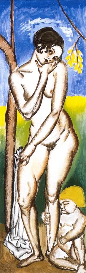 Nude 1911 | Maria Lehel | oil painting