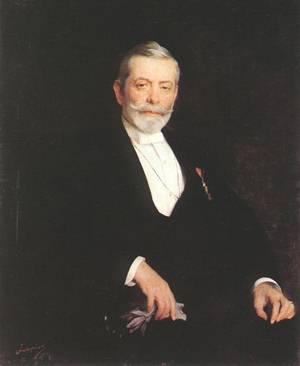 Portrait of Ignac Wechselmann 1894 | Elek Fulop Laszlo | oil painting