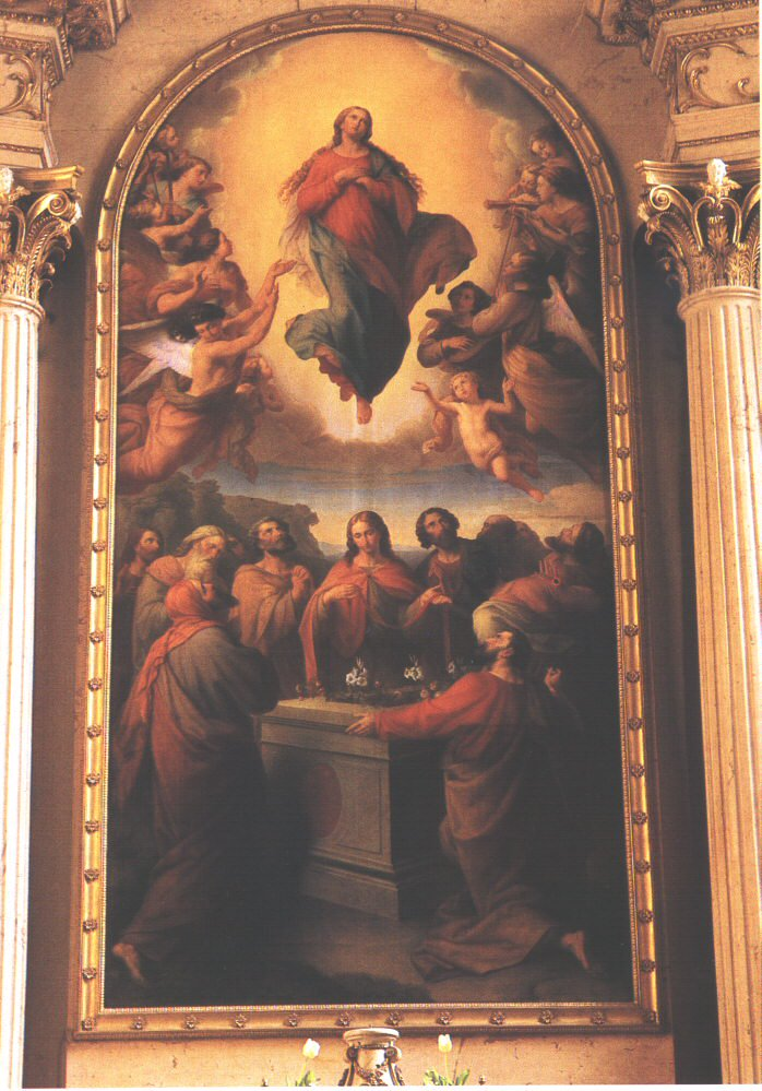 Assumption of the Virgin 1851   Leopold Kupelwieser   oil painting