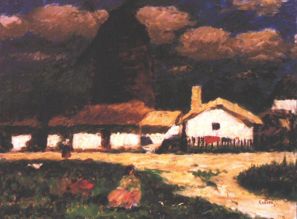 Berekhat 1920 | Jozsef Koszta | oil painting