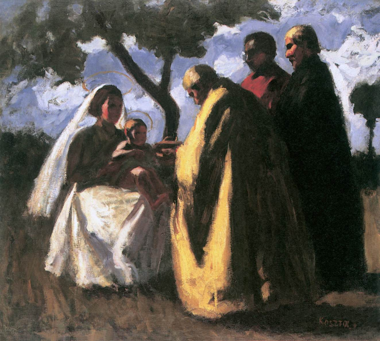 The Three Magi 1906 07 | Jozsef Koszta | oil painting