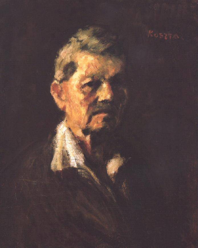 Self-portrait in Old Age 1940 | Jozsef Koszta | oil painting