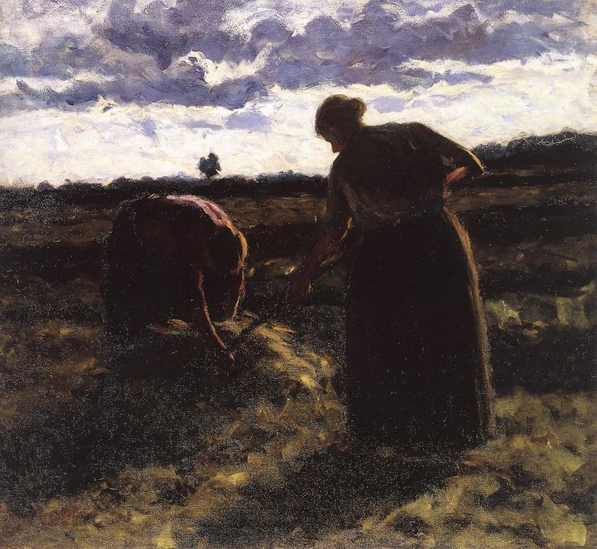 In the Field 1904 | Jozsef Koszta | oil painting