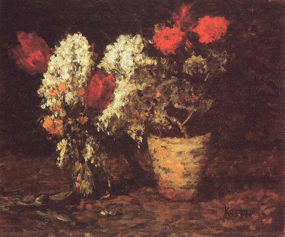 Flower Still life 1930 | Jozsef Koszta | oil painting
