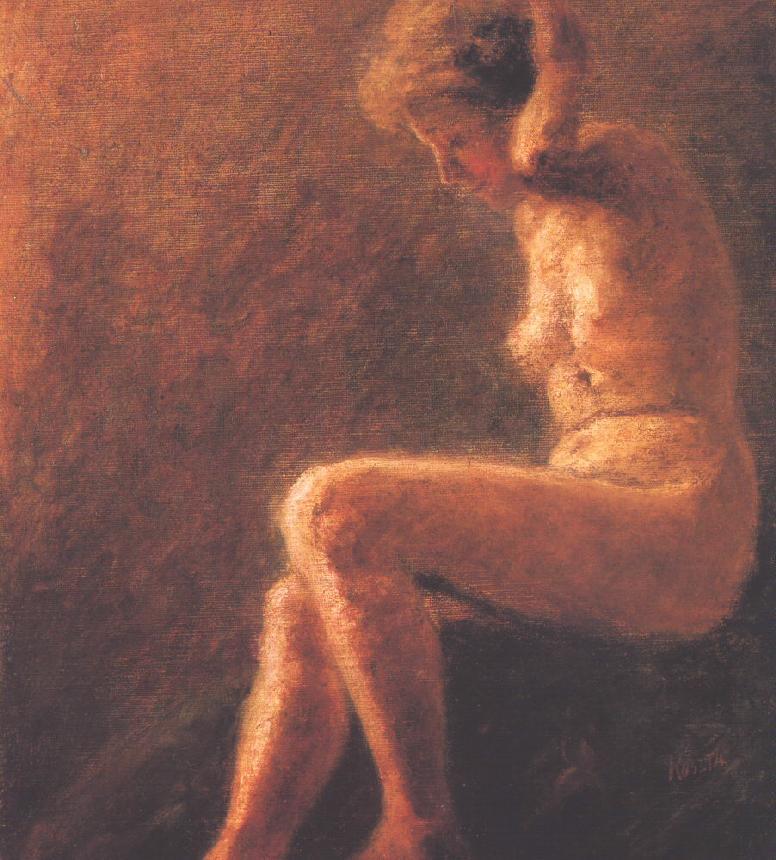 Female Nude 1905 | Jozsef Koszta | oil painting