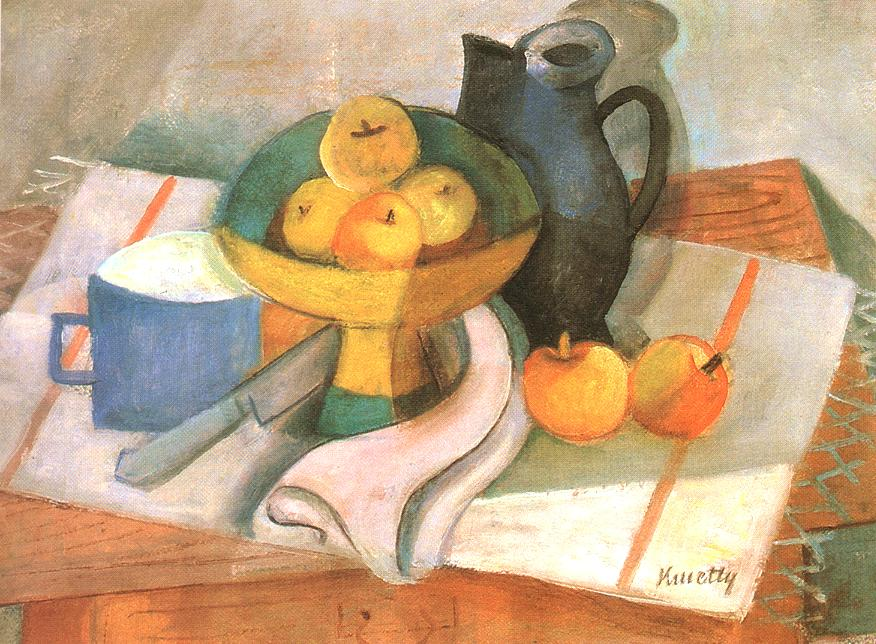 Still life 1930 2 | Janos Kmetty | oil painting
