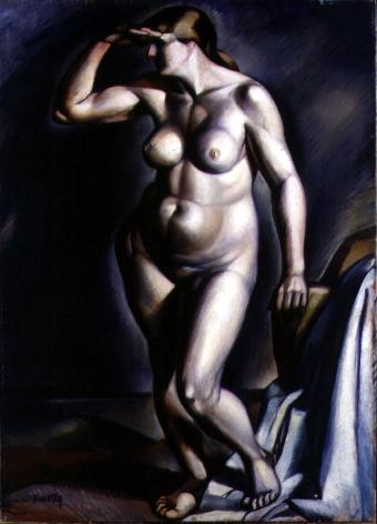 Nude 1918 | Janos Kmetty | oil painting