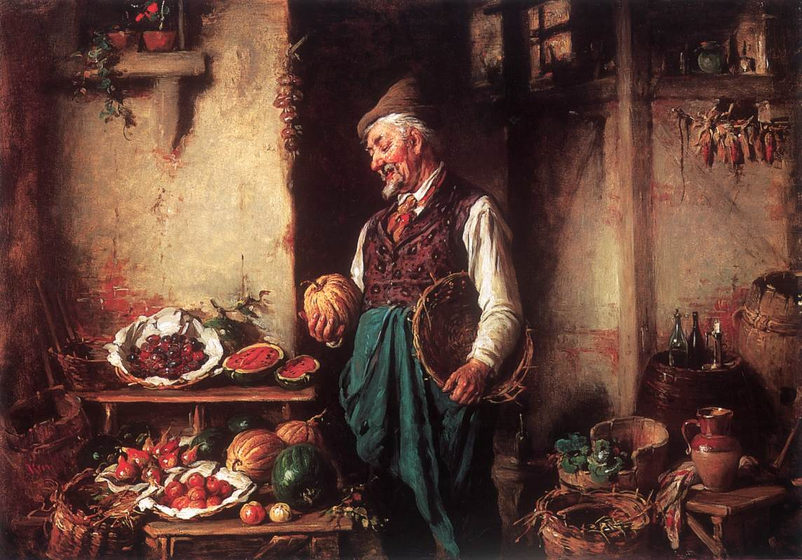 In the Pantry | Armin Hermann Kern | oil painting