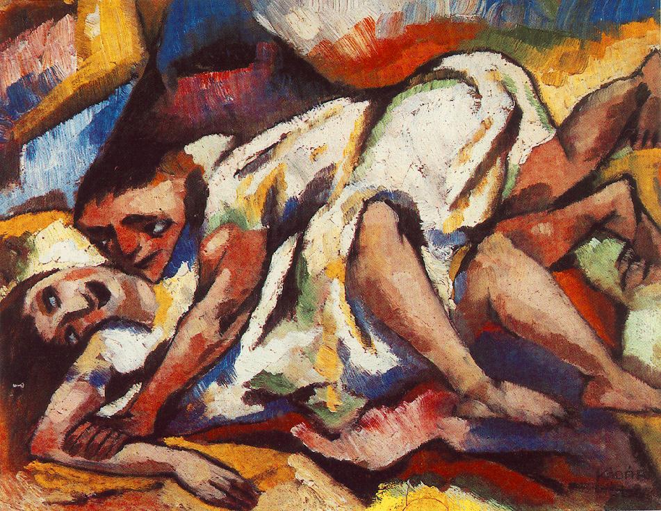 Ecstasy 1917 | Bela Kadar | oil painting