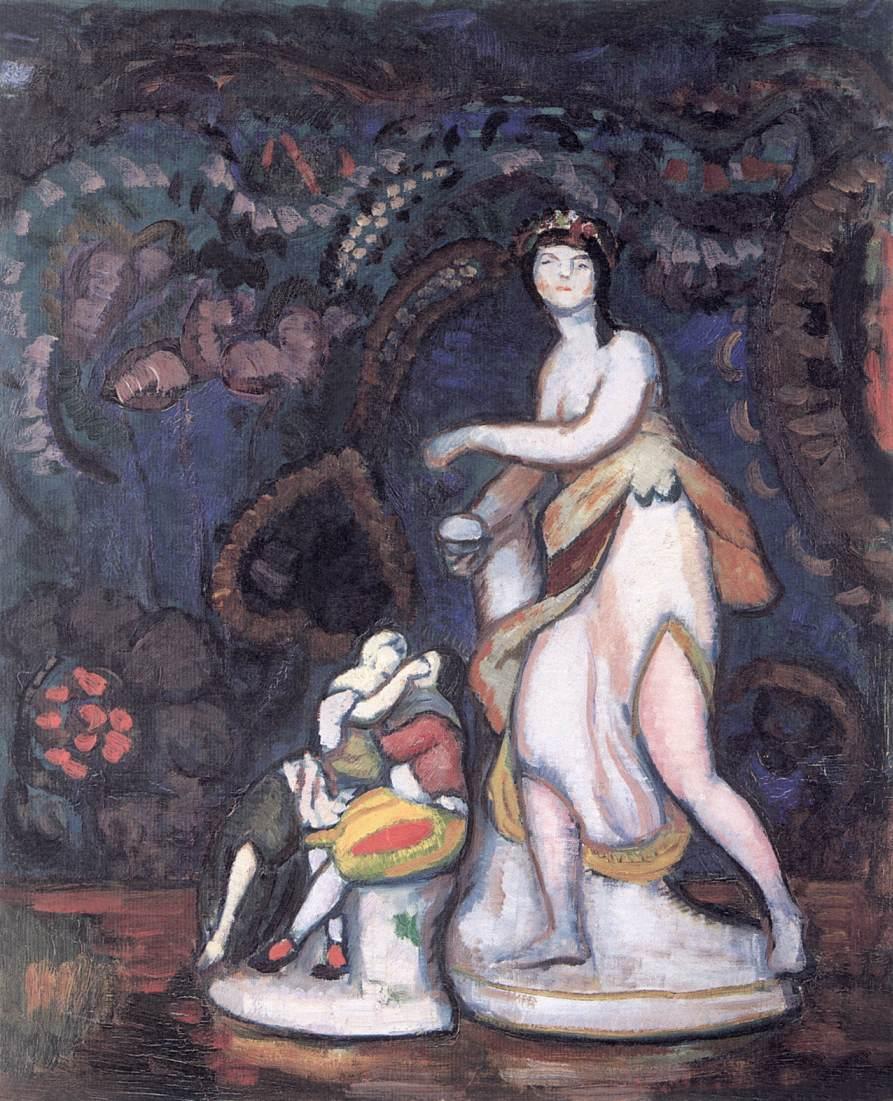 Still life 1912   Bela Grunwald Ivanyi   oil painting
