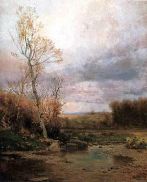 Landscape 1880 | Jervis McEntee | oil painting
