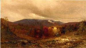 October in the Catskills 1866 | Jervis McEntee | oil painting