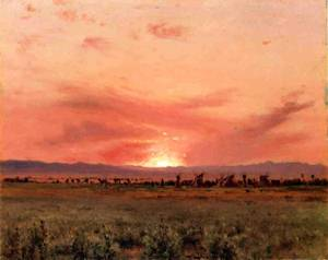 The Far West 1899 | Jervis McEntee | oil painting