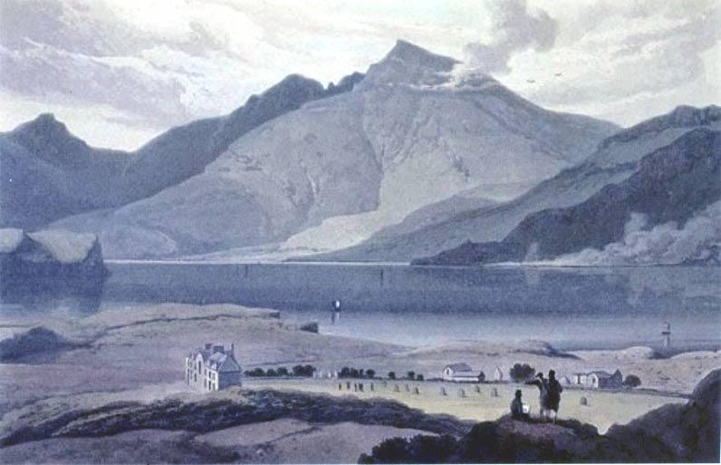 Ben More   Robert Salmon   oil painting